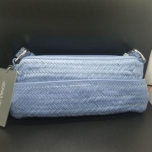 Donald J Pilner blue handbag